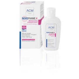 Novophane K sampon psoriasisra és erős korpára